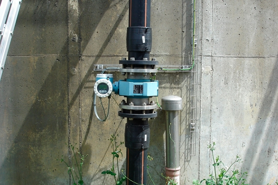 Accurate wastewater flow monitoring using Promag