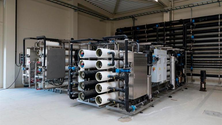 Pasfrost工厂中的反渗透系统。